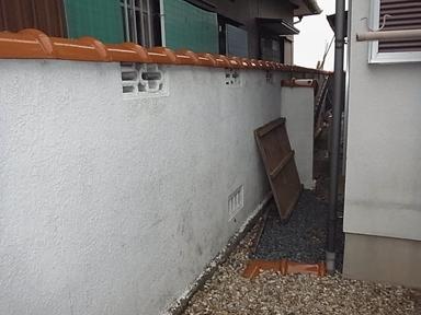 N様宅一部ブロック塀撤去補修及び駐車場一部ハツリ補修工事のアイキャッチ