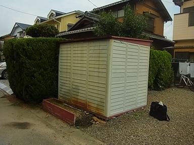 T.M様邸倉庫解体及び樹木抜根のアイキャッチ