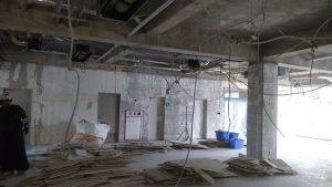名古屋解体名市大滝子キャンパス二期工事終了_200708