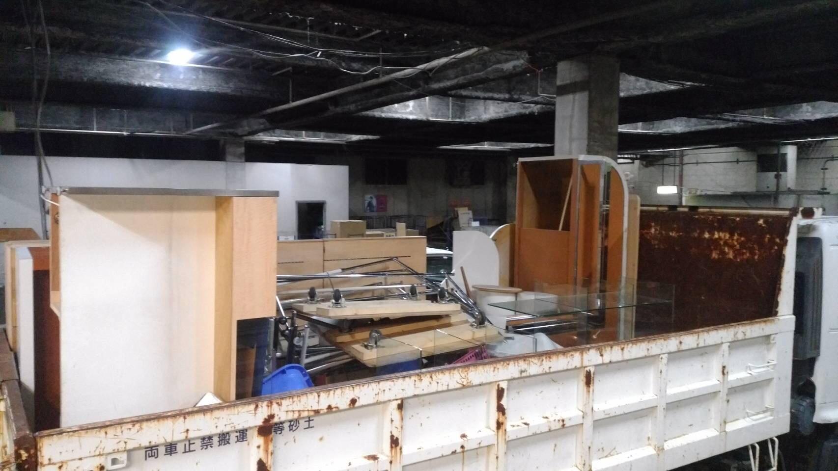 熱田区 ショッピングセンター内 ショップ什器撤去のアイキャッチ